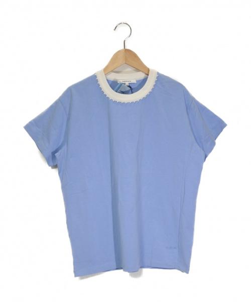 CARVEN(カルヴェン)CARVEN (カルヴェン) ビジューカットソー ブルー サイズ:S 未使用品 A0367UTS556の古着・服飾アイテム