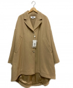 MM6(エムエムシックス)の古着「オーバーコート」|キャメル