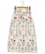 franche lippee(フランシュリッペ)の古着「冒険スカート」 ネイビー