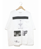 Maison MIHARA YASUHIRO(メゾンミハラヤスヒロ)の古着「BIGポケットTシャツ」|ホワイト