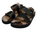 KIDS LOVE GAITE(キッズラブゲイト)の古着「Rubber Sole Sandals」