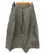 Lisiere(リジェール)の古着「ボーダーボリュームスカート」