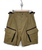 meanswhile()の古着「Luggage Cargo Shorts」|ベージュ