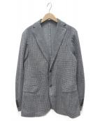 eleventy(イレブンティ)の古着「テーラードジャケット」 ネイビー