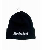 F.C.R.B.×New Era(エフシーリアルブリストル ニューエラ)の古着「BRISTOL KNIT CAP」|ブラック