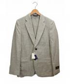 Belvest(ベルベスト)の古着「2Bウールジャケット」|グレー