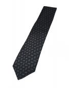 GUCCI(グッチ)の古着「シルクネクタイ」|ブラック
