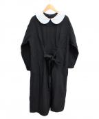 COMME des GARCONS GIRL(コムデギャルソン ガール)の古着「ラウンドカラーワンピース」|ブラック