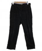ANATOMICA(アナトミカ)の古着「TRIM FIT PANTS」|ブラック