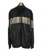 DIESEL()の古着「トラックジャケット」|ブラック
