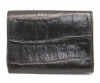 Felisi(フェリージ)の古着「型押しレザーカードケース」 ブラック