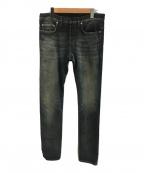 DIOR HOMME(ディオール オム)の古着「加工スキニーデニム」|インディゴ