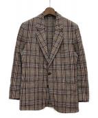 Maison Margiela(メゾンマルジェラ)の古着「ツイードジャケット」|ブラウン