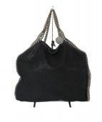 Stella McCartney(ステラマッカートニー)の古着「FALABELLA  ファラベラ 3chainトート バッグ」|ブラック