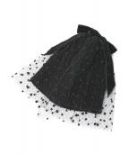 Athena New York(アシーナニューヨーク)の古着「POPO KNIT キャップ」|ブラック