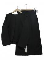 ADORE(アドーア)の古着「トリプルクロススカートスーツ」|ブラック