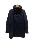 THE VIRIDI-ANNE(ザビリシアン)の古着「ハイネックショートコート」 ブラック