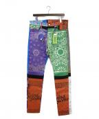 MINDSEEKER(マインドシーカー)の古着「Bandana Denim Pants」