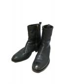 BUTTERO(ブッテロ)の古着「サイドジップブーツ」|ブラック