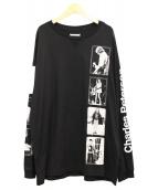 TAKAHIROMIYASHITA TheSoloIst.(タカヒロミヤシタザソロイスト)の古着「オーバーサイズクルーネック長袖Tシャツ」|ブラック