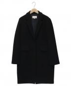 M-PREMIER(エムプルミエ)の古着「チェスターコート」 ブラック