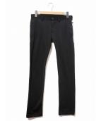 Y-3(ワイスリー)の古着「ラインパンツ」|ブラック