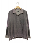 A・POC(エーポック)の古着「オープンカラーシャツ」|グレー