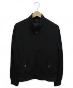 CIRCOLO 1901(チルコロ1901)の古着「鹿の子織りコットンブルゾン」 ブラック