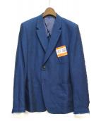Maison MIHARA YASUHIRO(メゾンミハラヤスヒロ)の古着「リネン混ジャケット」|ブルー