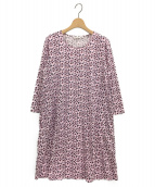 marimekko(マリメッコ)の古着「カットソーワンピース」|ピンク