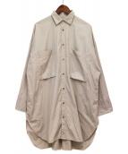 syte(サイト)の古着「オーバーサイズシャツ」 グレー