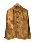 DANTON(ダントン)の古着「シャツジャケット」|ベージュ