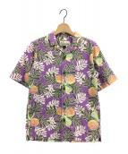 ()の古着「パタロハシャツ」 パープル