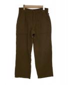 ()の古着「WoolNylon Fatigue Pants」 ブラウン