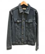 ALL SAINTS()の古着「デニムジャケット」|ブラック