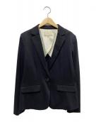 自由区(ジユウク)の古着「テーラードジャケット」|ネイビー
