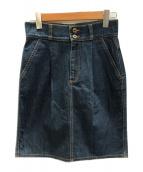 GUCCI(グッチ)の古着「デニムスカート」|インディゴ