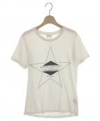 Saint Laurent Paris(サンローランパリ)の古着「パラディウムプリントTシャツ」 ホワイト