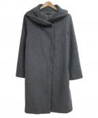 ROSSO(ロッソ)の古着「ボリュームカラーコート」 グレー