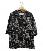 JANE SMITH(ジェーンスミス)の古着「オープンカラーアロハシャツ」|ブラック