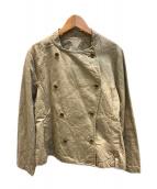 ()の古着「ファナージュハイカウントコックジャケット」 ベージュ
