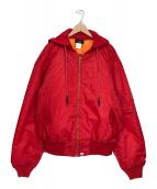 ()の古着「MA-1ジャケット」 レッド