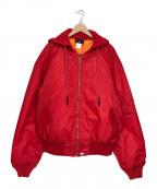 SAPEur(サプール)の古着「MA-1ジャケット」 レッド