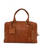 土屋鞄(ツチヤカバン)の古着「ボストンバッグ」|ブラウン