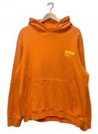 affix(アフィックス)の古着「パーカー」|オレンジ