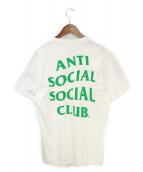 ANTI SOCIAL SOCIAL CLUB(アンチソーシャルソーシャルクラブ)の古着「プリントTシャツ」|ホワイト