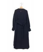 LAUTRE AMONT(ロートレアモン)の古着「DRESS 4 LOVES / ワンピース」 ネイビー