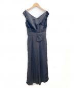 LAGUNA MOON(ラグナムーン)の古着「LADYベルベットパンツドレス」|ブラック