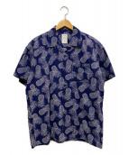 Mr.Gentleman(ミスタージェントルマン)の古着「アロハシャツ」|ネイビー