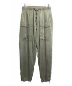 TICCA(ティッカ)の古着「ミリタリーパンツ」|オリーブ
